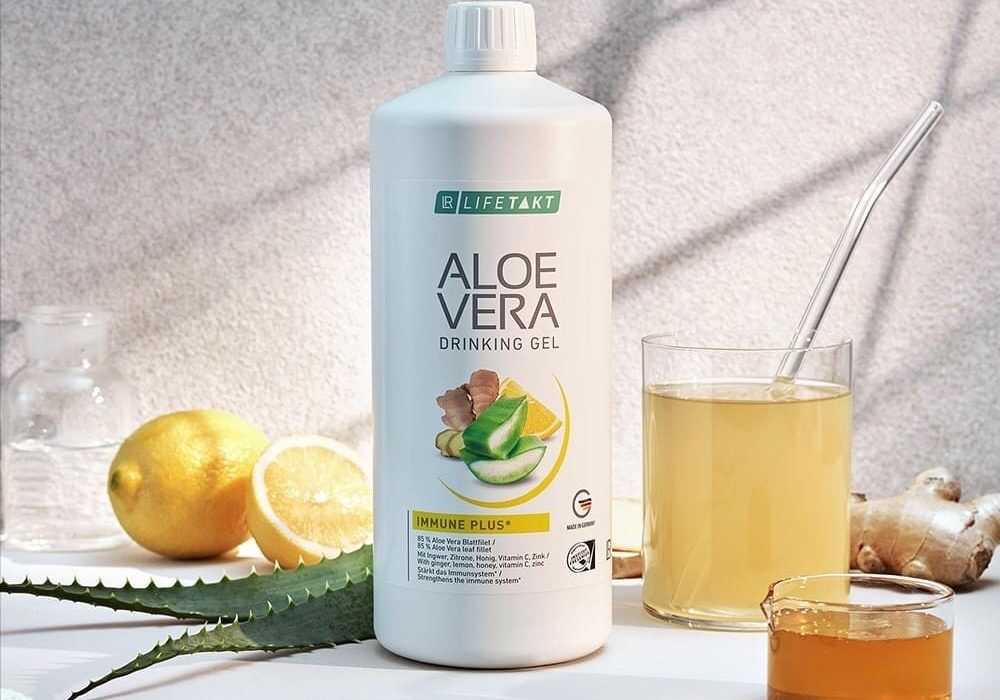Aloe drinking gel Ginger_Health Party by LR_Алое за пиене Джинджифил_за здраве
