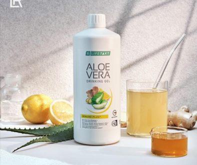 Aloe drinking gel Ginger_Health Party by LR_Алое за пиене Джинджифил_за здраве