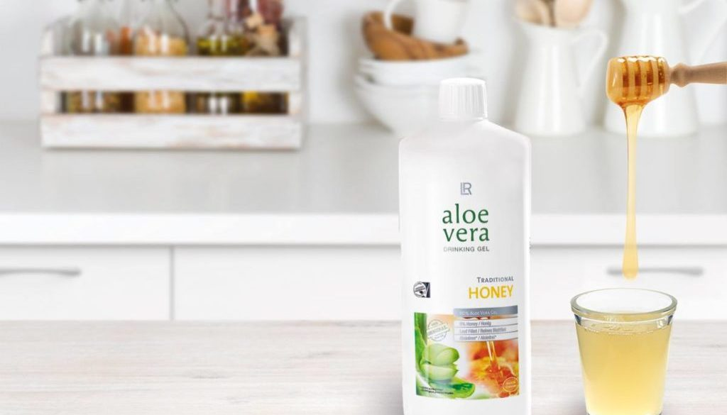 Aloe drinking gel honey_Health Party by LR_Алое за пиене с мед- здраве