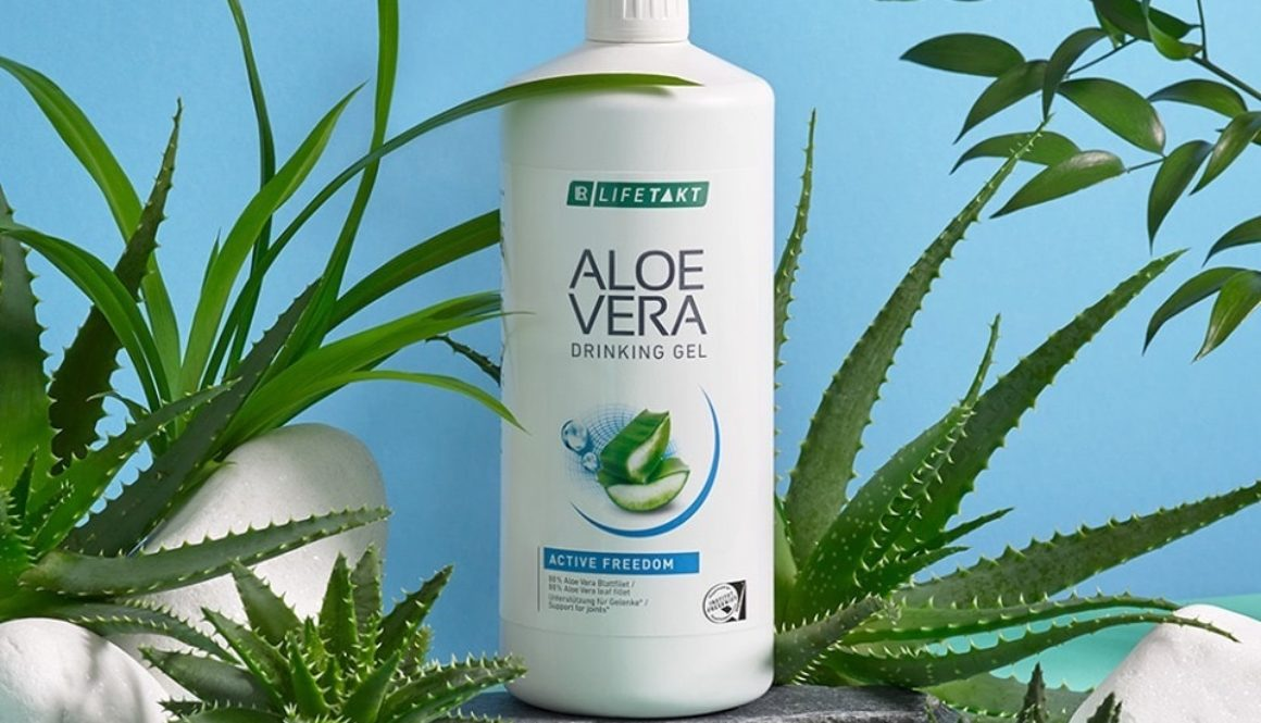 Aloe drinking gel joints and bones_Health Party by LR_Алое за пиене с колаген_за здраве